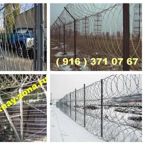 Монтаж заграждений Репейник ,  Шиповник ,  Акация в Рязани